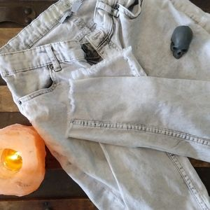 H&M Distressed Skinny Ankle Jeans